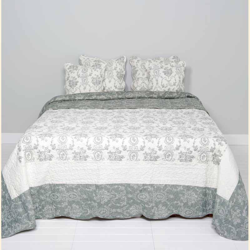 Tagesdecke Bettüberwurf Clayre & Eef Schlafzimmer Deko